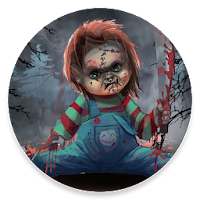 Scary Doll Halloween Theme - Wallpapers and Icons For PC