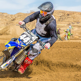 Motocross by Thomas Dilworth - Sports & Fitness Motorsports ( motocross, 441, racing, moto, coloroad )
