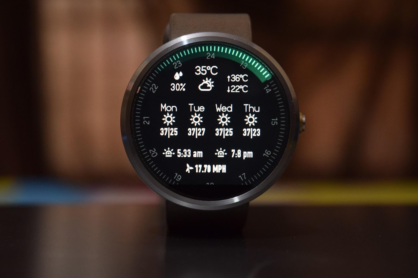 Minimus Interactive Watch Face Screenshot 16