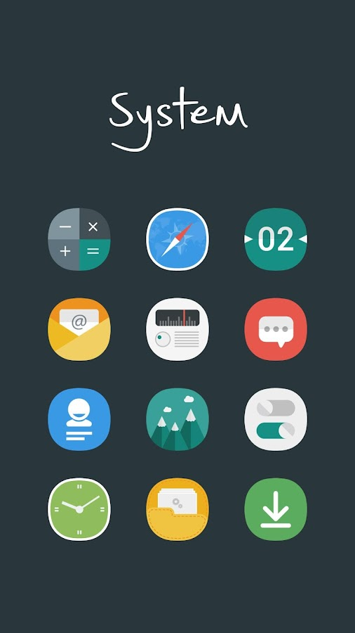 Aerus MultiLauncher Icon Theme Screenshot 5