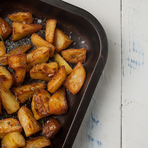 Crispiest Roast Potatoes