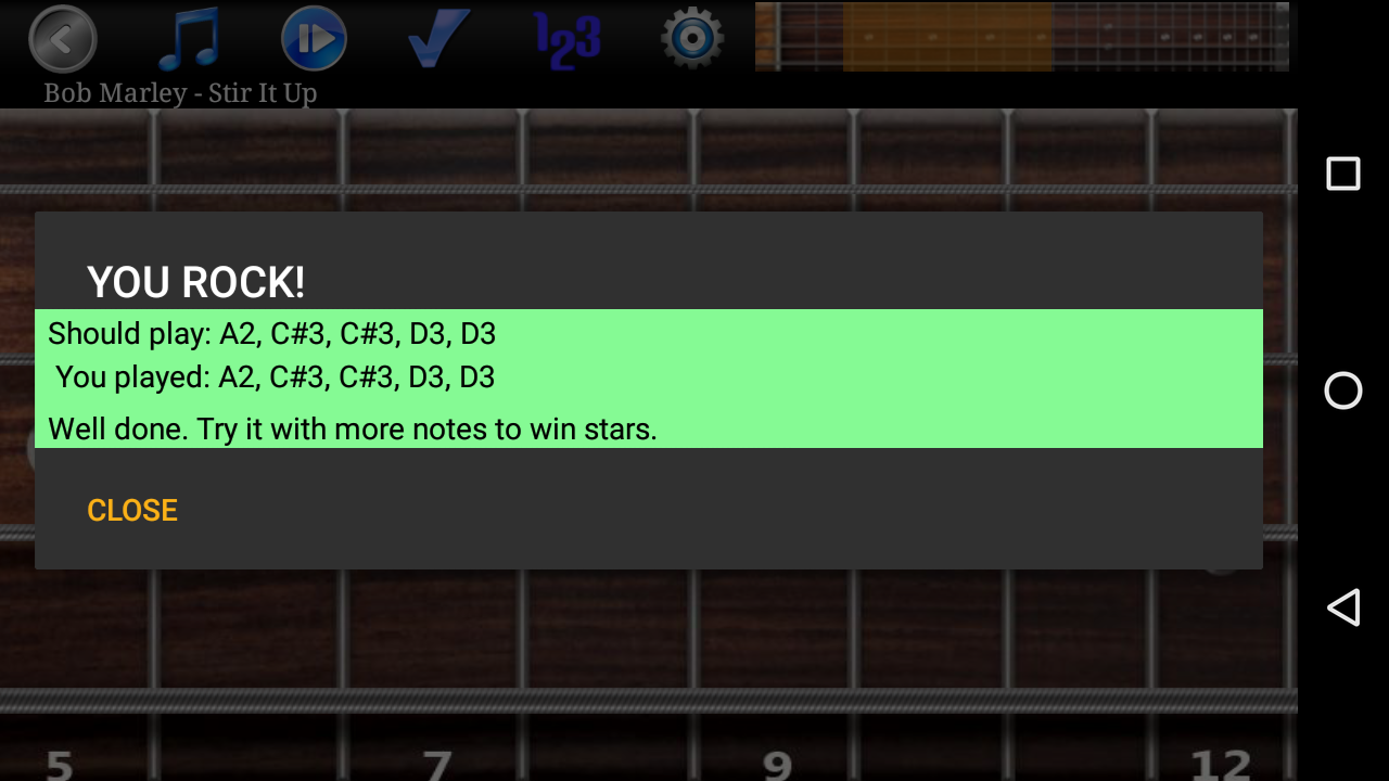 Bass Guitar Tutor Pro Screenshot 3