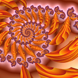 Spiral 26 by Cassy 67 - Illustration Abstract & Patterns ( abstract, abstract art, swirl, digital art, spiral, fractal, digital, light, fractals, energy )