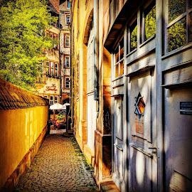 Peacful passage by Stephen Lang - City,  Street & Park  Street Scenes