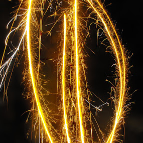 vishu - festival of fire by Arjun Vjy - Abstract Light Painting ( fireworks, festival, vishu, fire )