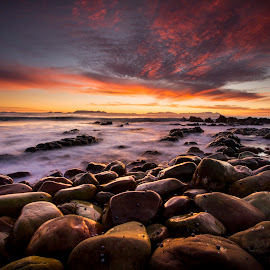 Another Day by Chris Coetzee - Landscapes Sunsets & Sunrises ( waves, sunset, sea, ocean, sunrise )