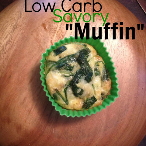 Low Carb Spinach and Eggs Muffin