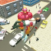 Free City Rescue Flying Robot Super Hero APK for Windows 8