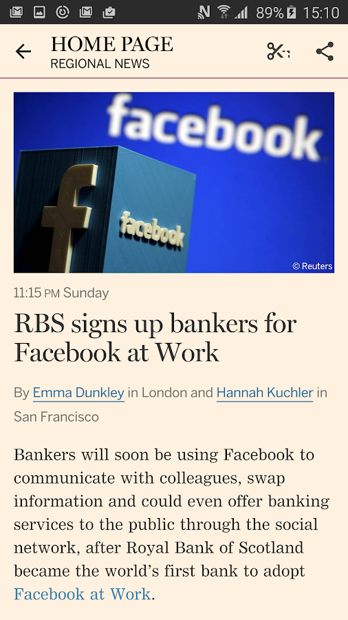 Financial Times Screenshot 4
