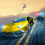 Road Racing: Highway Traffic & Furious Driver 3D Icon