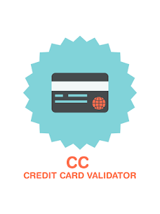 Credit Card Validator with CVV screenshot for Android