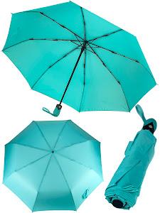 """Зонт """"Компакт L"""", бирюзовый"""