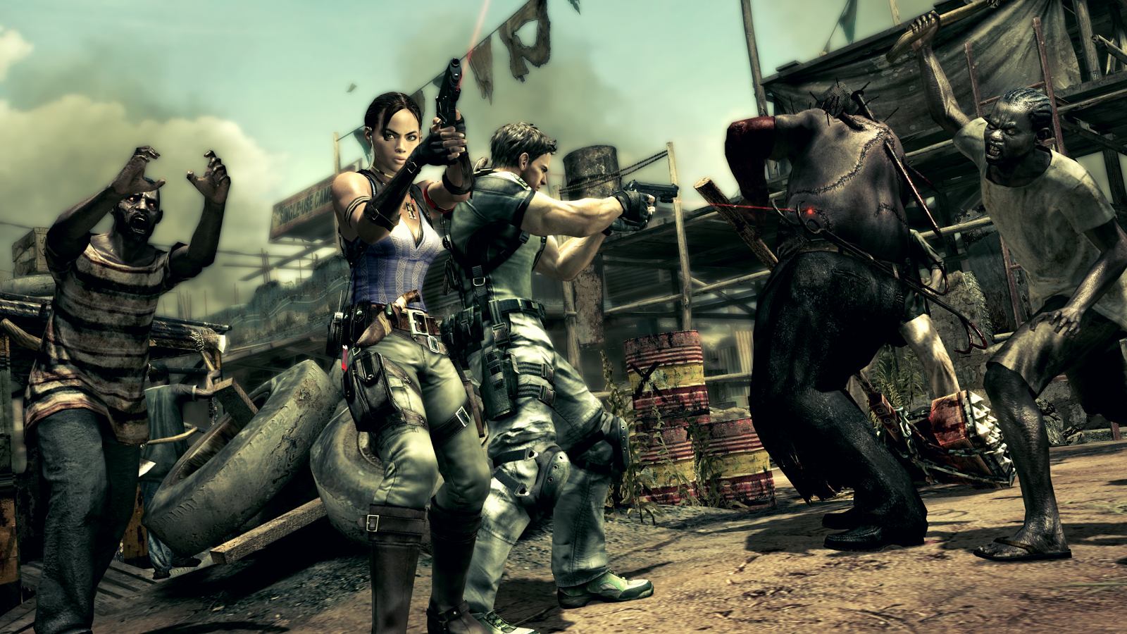Resident Evil 5 for SHIELD TV Screenshot 6
