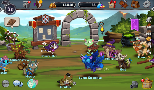 Castle Cats APK for Bluestacks