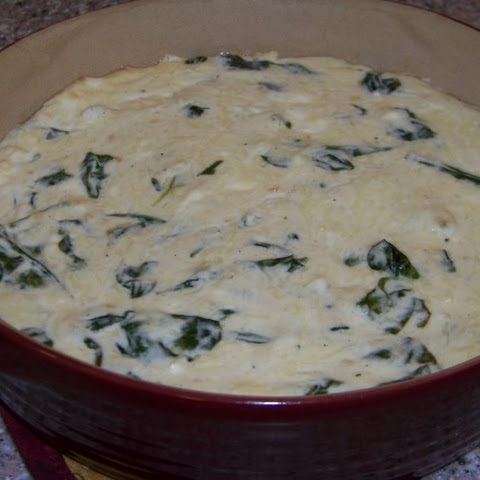 Warm Spinach Cheese Dip