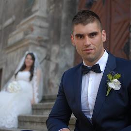 by Sasa Rajic Wedding Photography - Wedding Groom