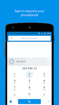 Truedialer - Phone & Contacts APK screenshot thumbnail 2