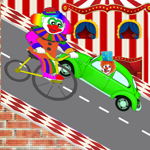 Downhill Crazy Clown
