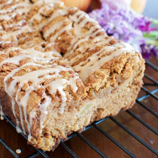 The BEST Cinnamon Apple Bread
