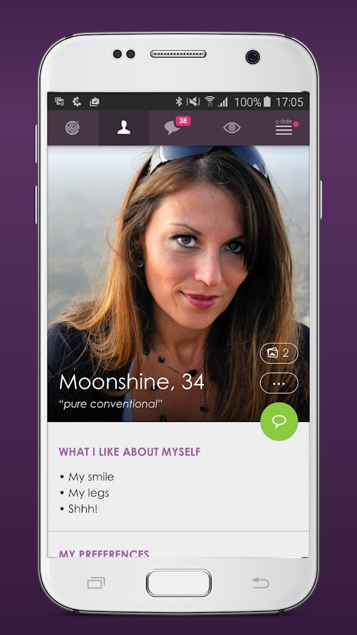 C-Date – Dating with live chat Screenshot 0