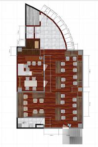 デザイン案1平面図