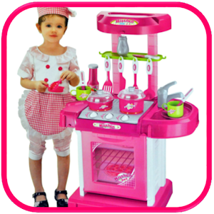 Kitchen Set Cooking Food Toys For PC