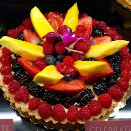 Fruit Tart Dessert by Lope Piamonte Jr - Food & Drink Candy & Dessert