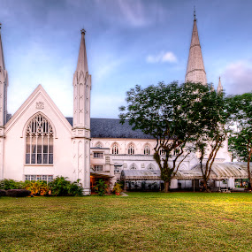 St. Andrew's Cathedral in Singapore by Edwin Ng - Buildings & Architecture Places of Worship ( singapore. christian, andrew, church, christ, cathedral, st, worship, saint )