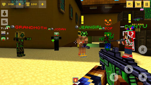 Block Force - Cops N Robbers screenshot 9