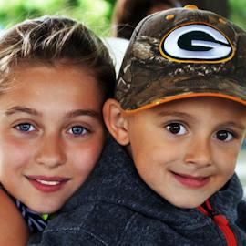 Siblings by Cheryl Korotky - Babies & Children Child Portraits