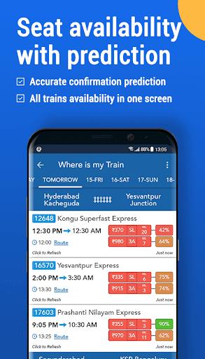 Where is my Train : Indian Railway & PNR Status screenshot 3