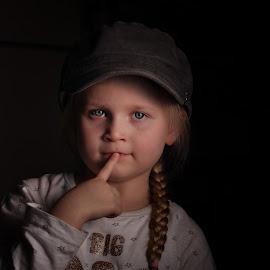 My little big girl... by Johan Dubois - Babies & Children Child Portraits