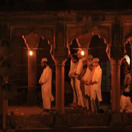Ramzan prayer at jama masjid by Rahul Verma - Buildings & Architecture Places of Worship ( prayer, ramdan, jama masjid mosque )