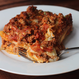 Clean Eating Lasagna