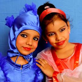 DIYA AND RAGINI by SANGEETA MENA  - Babies & Children Children Candids