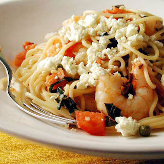 Mediterranean Pasta With Shrimp And Capers Recipes