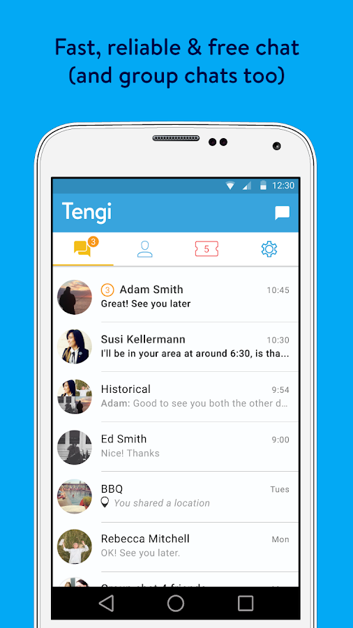 Tengi: the app that gives back Screenshot 3