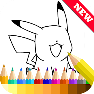 PokeMonster Coloring Book New