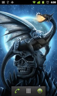 skulls and dragons wallpapers - screenshot