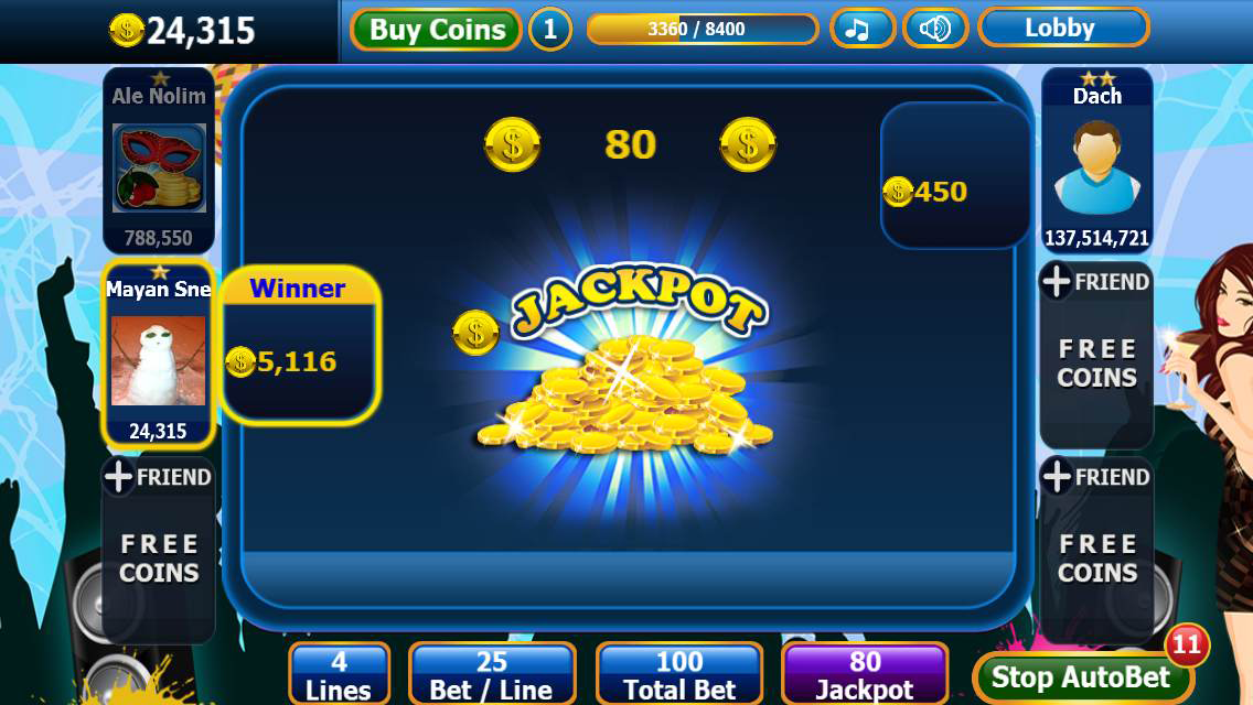 Slot & Party Free Casino Slots Screenshot 2