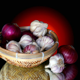 Garlic-onion by Asif Bora - Food & Drink Ingredients
