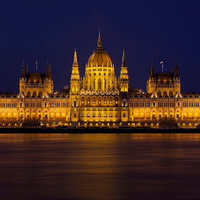 Parliament building Budapest by Claudiu Bichescu - Buildings & Architecture Architectural Detail ( budapest, hungary budapest, parliament building )
