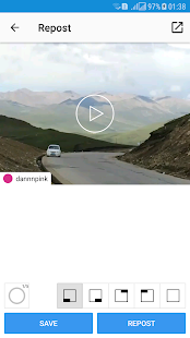Repost Photo & Video for Instagram Screenshot