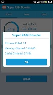 Super RAM Booster- screenshot thumbnail