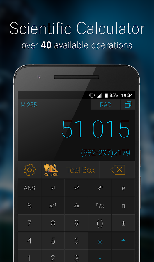 CalcKit: All-in-One Calculator Screenshot 1