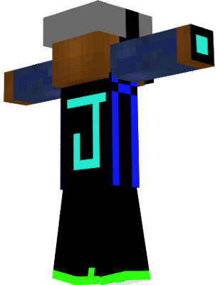 JAKE MITCH ASKED SOMEONE TO MAKE HIM A MINCRAFT SKIN SO I MADE HIM ONE