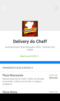 Delivery Do Cheff APK screenshot thumbnail 1
