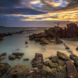 Bonzai Layang-Layangan, Labuan by Daimasara Abdullah - Landscapes Waterscapes