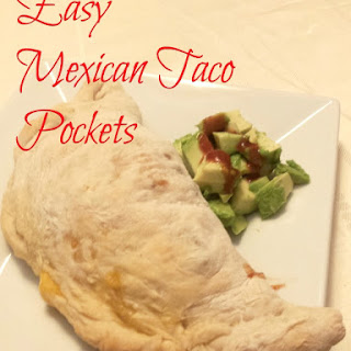 Easy Mexican Taco Pocket