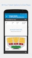 Screenshot of Ticketmaster - Event Tickets